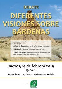 """Debate """"Diferentes visiones sobre Bardenas"""" @ Centro Cívico Rúa"""