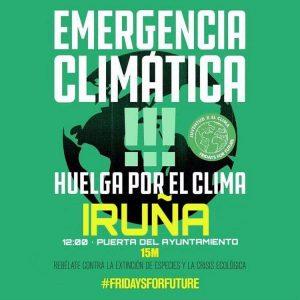 Emergencia climática-Huelga por el clima @ Plaza del Ayuntamiento