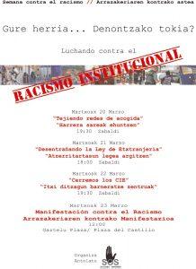 Semana contra el racismo-Arrazakeriaren kontako astea