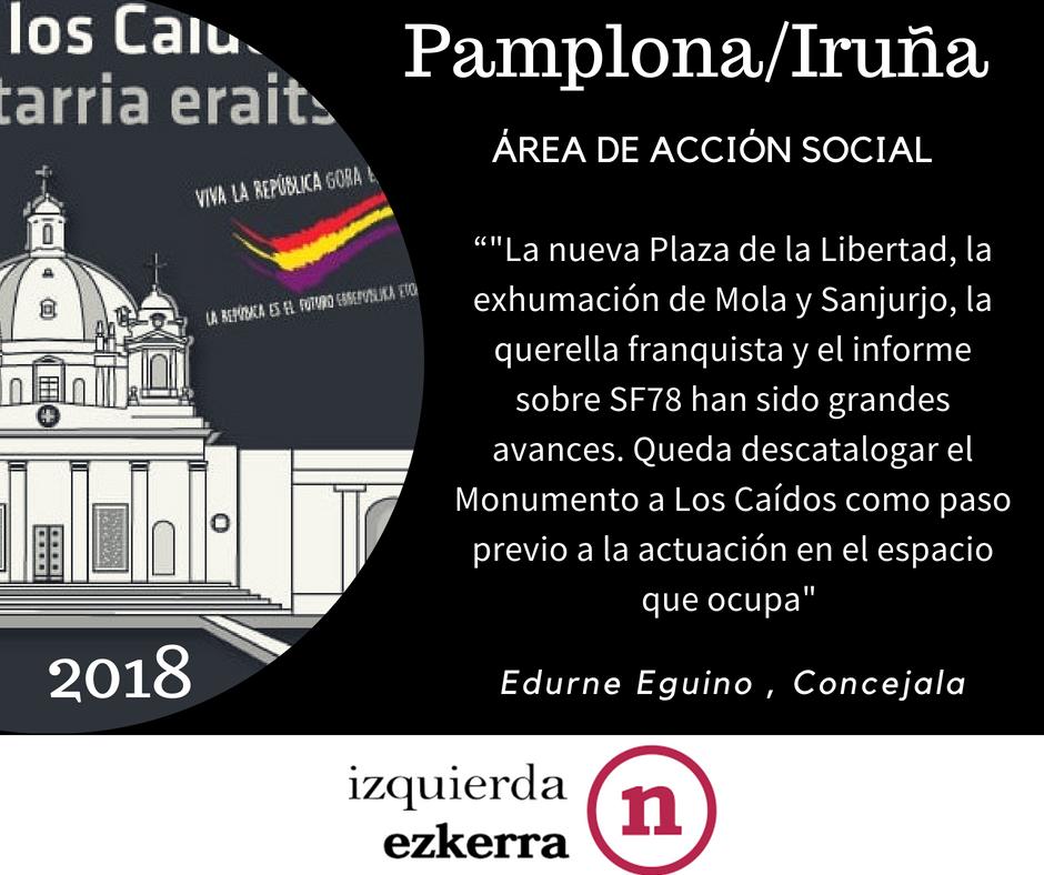 Campaña IE Iruña. 2018.
