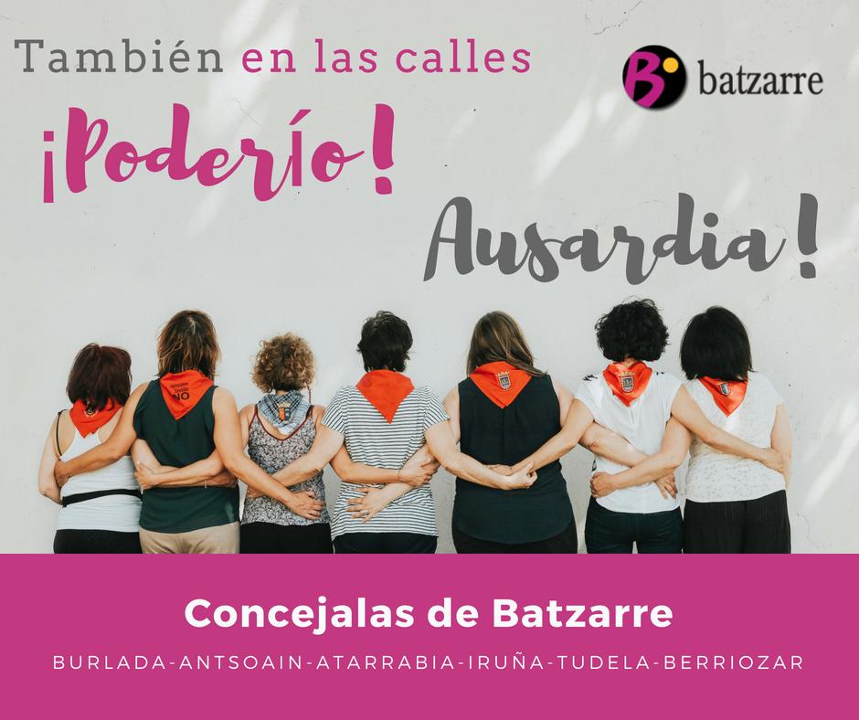 Campaña sensibilización fiestas verano 2018. También en las calles, ¡poderío!