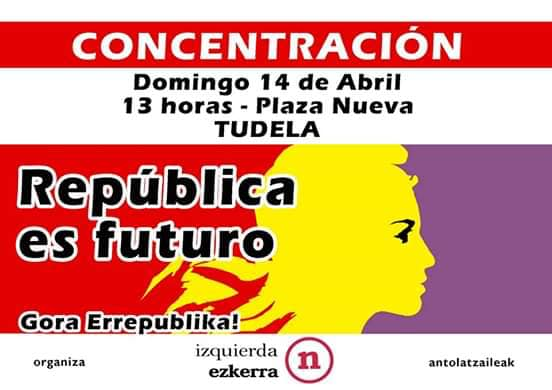 Acto IE Tudela. Abril 2019.
