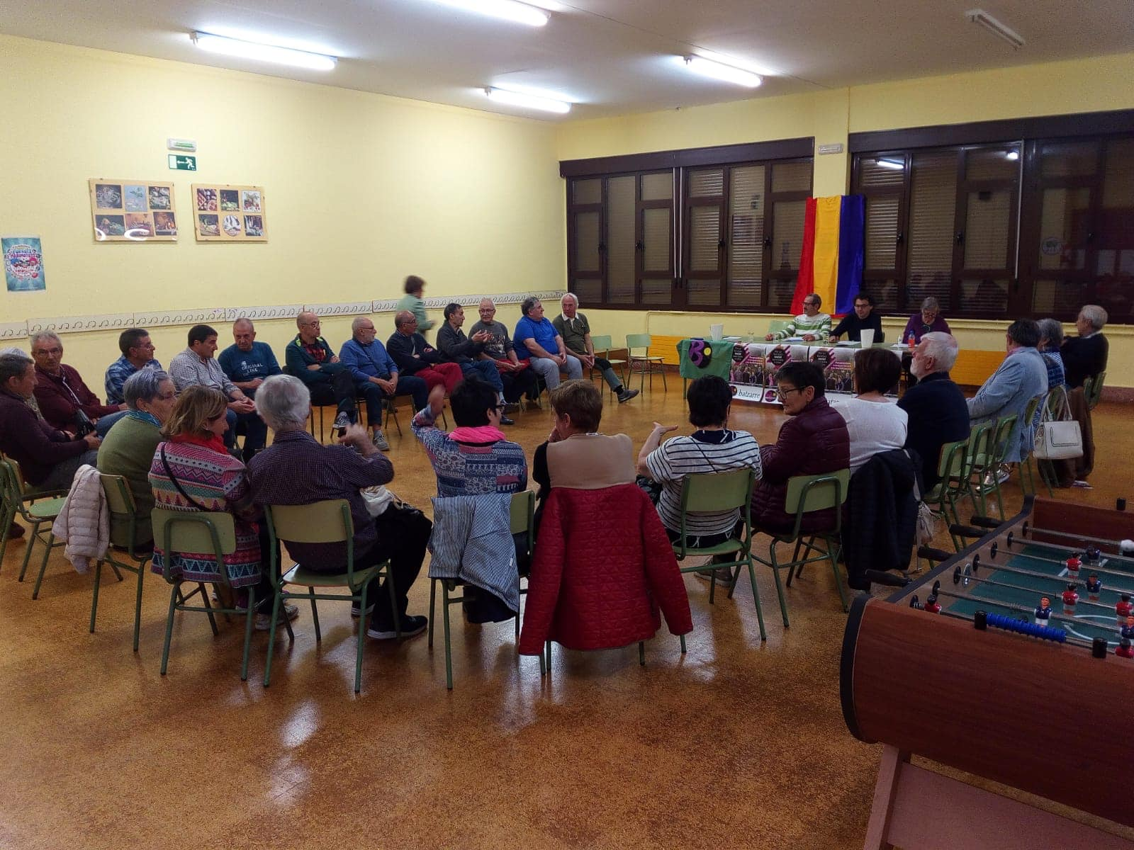Acto candidatura municipal Barañain.