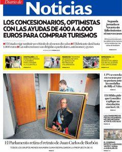 Portada Diario Noticias 16 Junio 2020