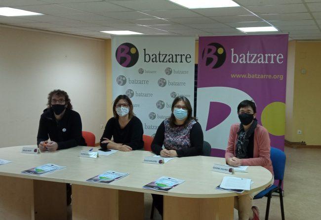 Rueda de prensa con los resultados de la 2ºAsamblea de Batzarre.