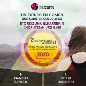 2020 2.BatzarOrokorra -2020 2ºAsamblea Batzarre @ Batzarre