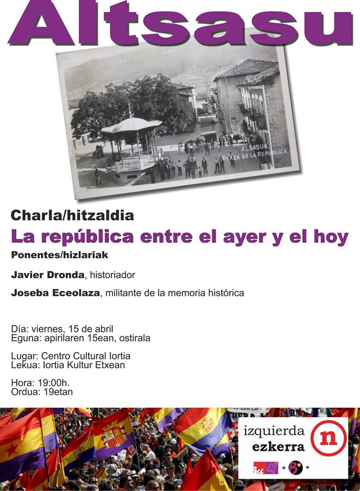 Charla Memoria Histórica.