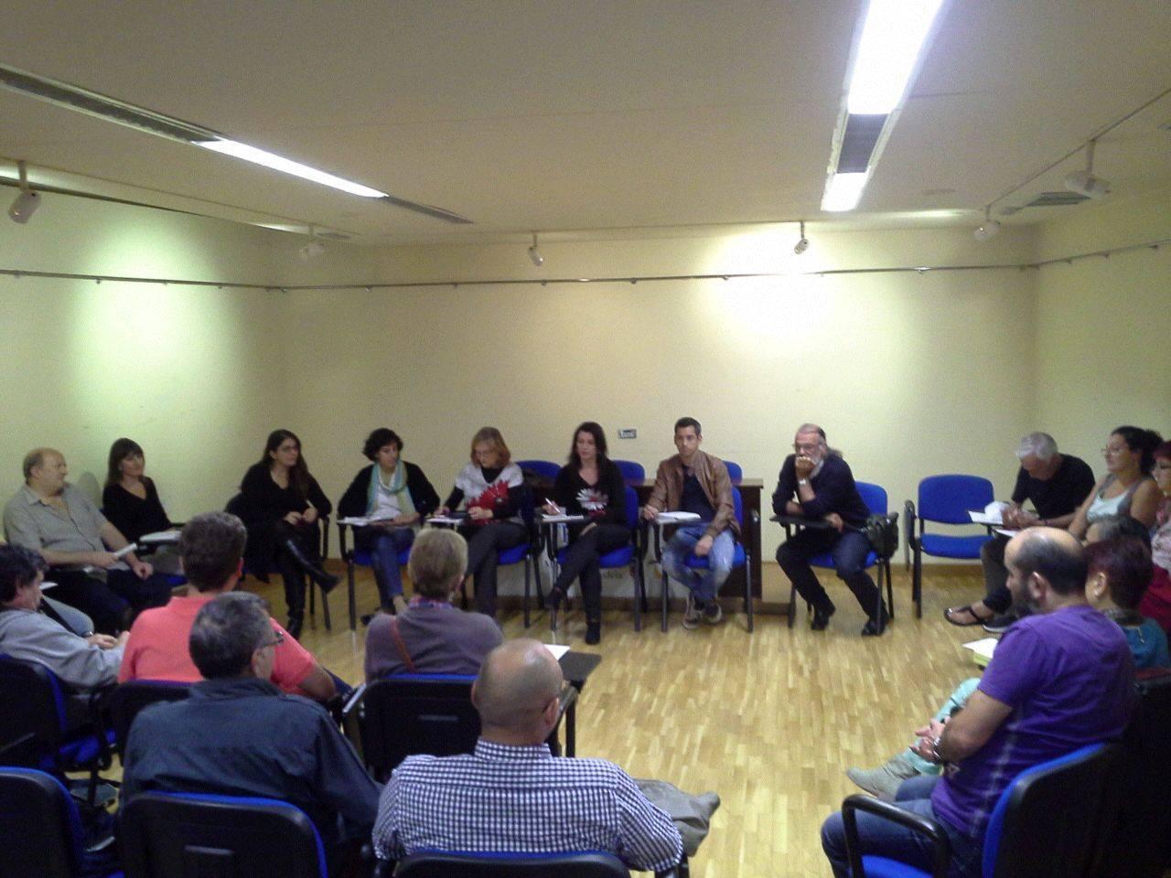 Reunión afiliación de Batzarre. 2014.