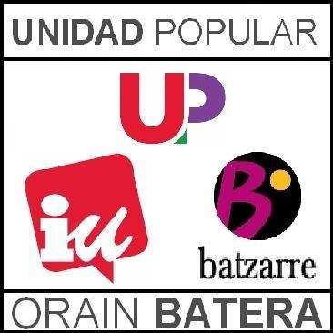 Coalición Unidad Popular. Elecciones Generales 2015.