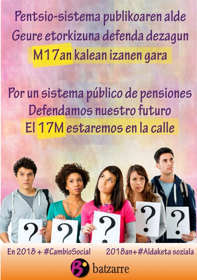 En defensa del sistema público de pensiones.