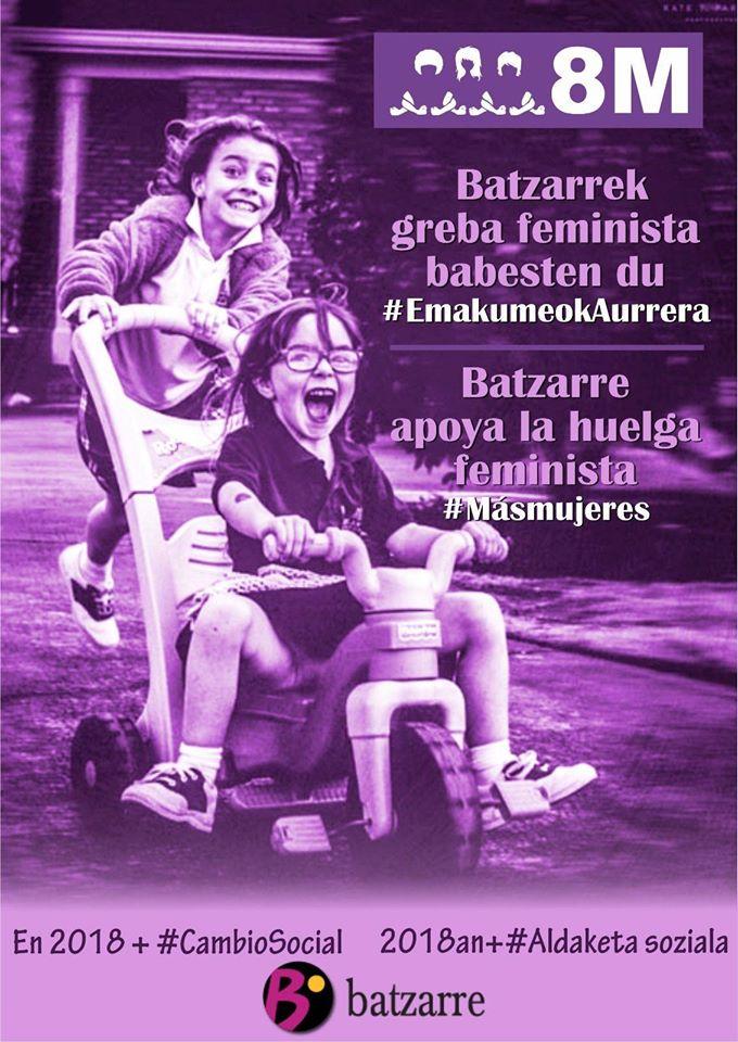 8M2018. #EmakumeokAurrera