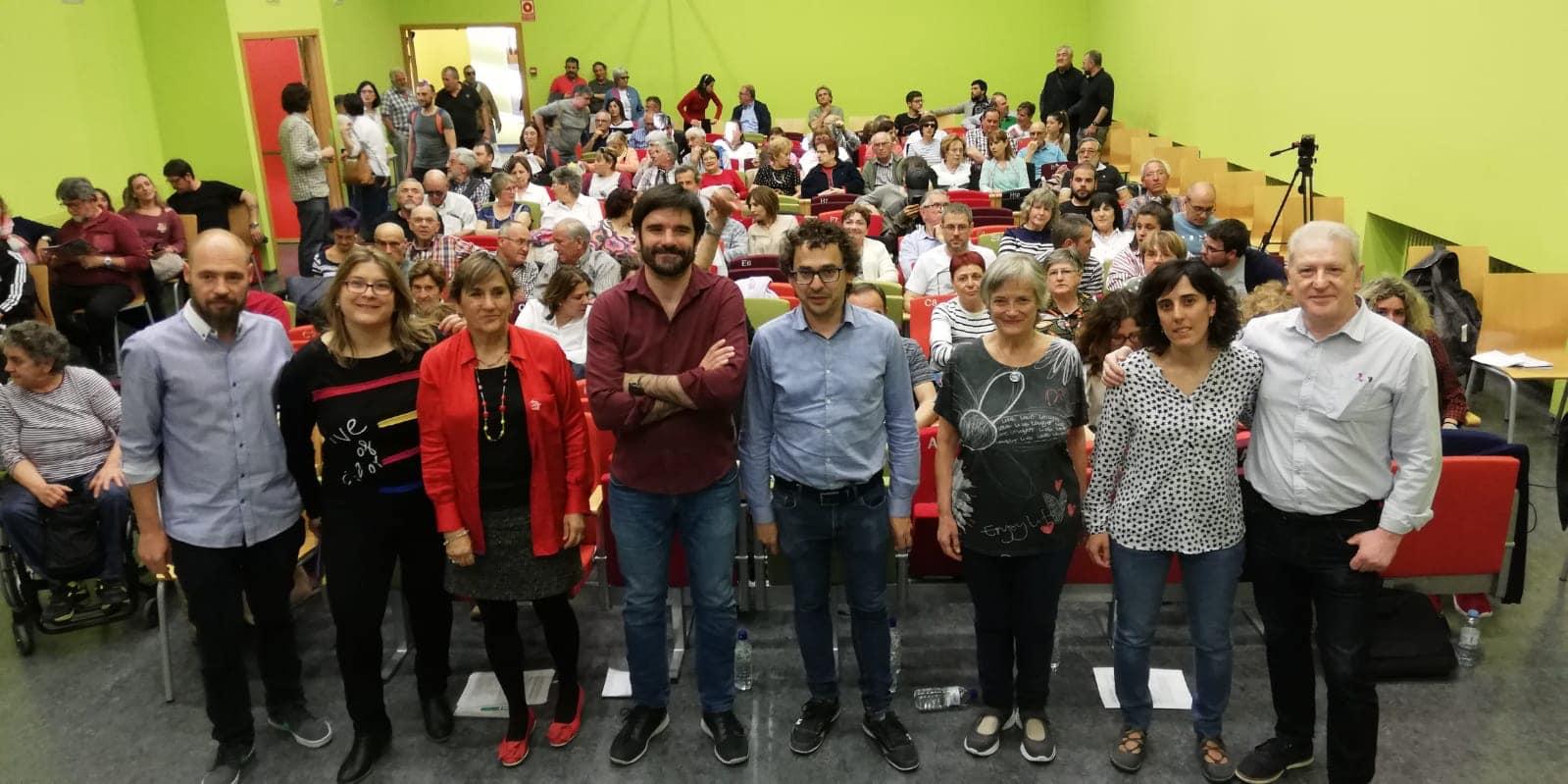 Candidatura Municipal Tudela. Mayo 2019.