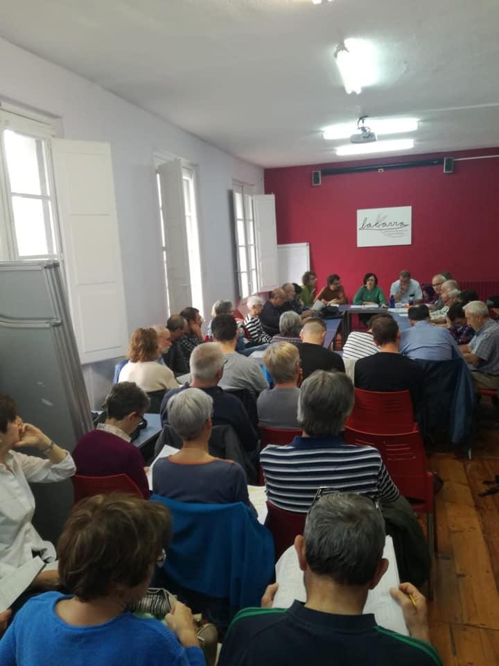Consejo Político post-elecciones, Junio 2019.