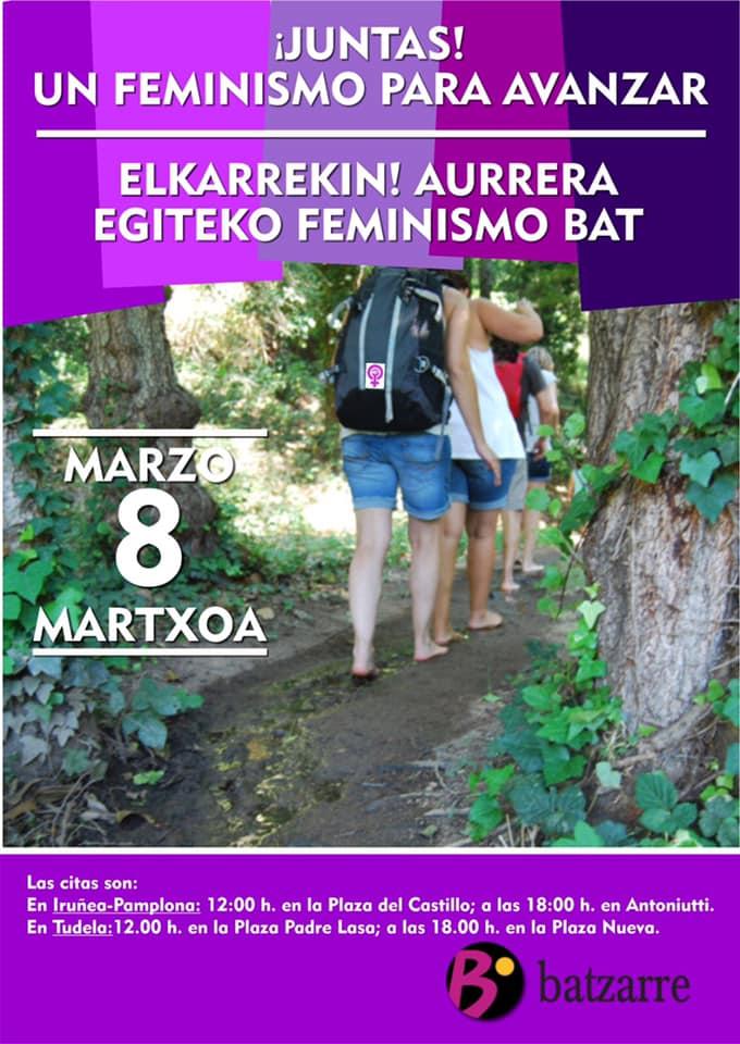 8M2020. Un Feminismo para Avanzar. Elkarrekin!