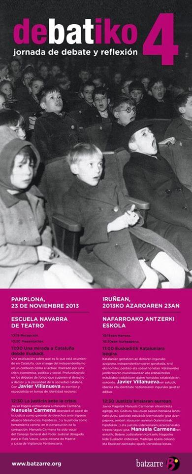 Debatiko. Noviembre 2013.